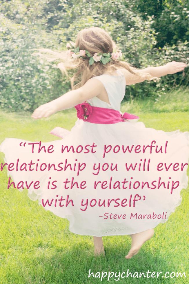 ©HappyChanter relationship with yourself