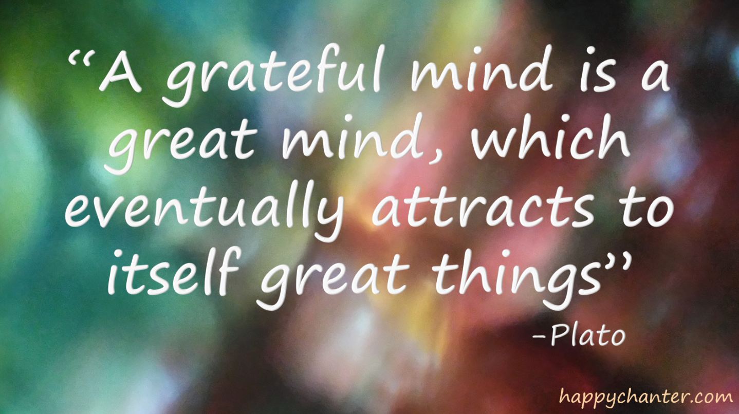 ©HappyChanter grateful mind plato